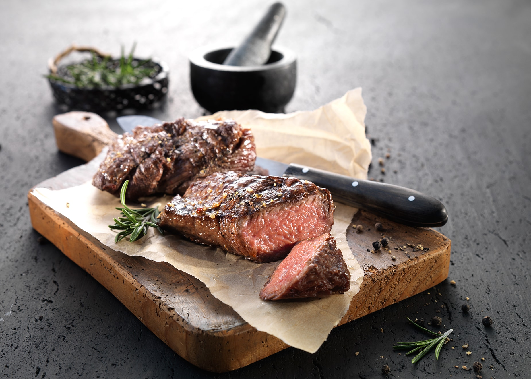 Flat-Iron Steaks ´´Black Pepper´´